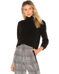 Velvet By Graham & Spencer - Babette Cashmere Sweater In Black - Lyst