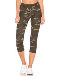 Stateside - Camo Thermal Legging In Olive - Lyst