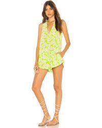 Acacia Swimwear - Haiku Romper In Green - Lyst