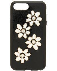 Sonix - Swarovski Opal Daisy Iphone 6/7/ Plus Case In Black. - Lyst