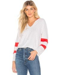 Mcguire - Long Sleeve Jersey In White - Lyst