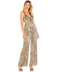 House of Harlow 1960 - X Revolve Linda Jumpsuit In Tan - Lyst