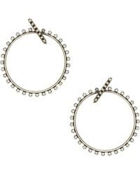 Kendra Scott - Charlie Grace Hoop Earrings - Lyst