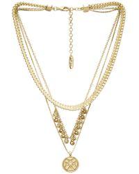 Luv Aj - X Sabo Luxe Noa Coin Charm Necklace - Lyst