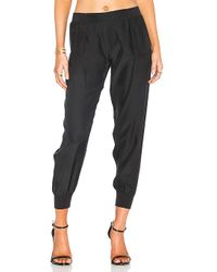 ATM - Woven Jogger In Black - Lyst