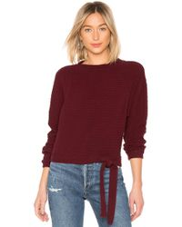 Lamade - Foster Pullover In Wine - Lyst