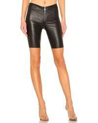 RTA - Mona Stretch-leather Shorts - Lyst
