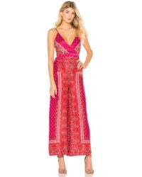 Free People - Cabbage Rose Jumpsuit - Lyst