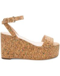 RAYE - Olly Wedge In Tan - Lyst