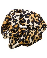 Jennifer Behr - Leopard Scrunchie - Lyst