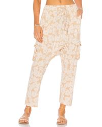 Acacia Swimwear - Cambodia Harem Trousers In Neutral - Lyst
