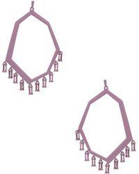 Kendra Scott - Thomas Earrings In Purple. - Lyst
