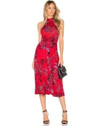 House of Harlow 1960 - X Revolve Carla Dress In Red - Lyst