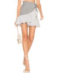 Suboo - Ziggy Frill Mini Skirt - Lyst