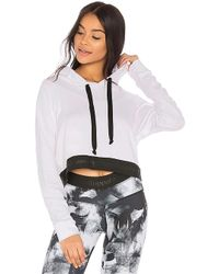 Strut-this - The Unstoppable Crop Hoodie - Lyst