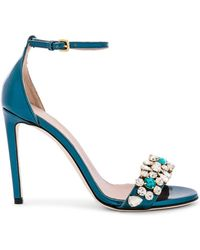 Gedebe - Charlize Sandal In Turquoise - Lyst