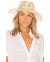 Rag & Bone - Lacey Wide Brim Panama Hat - Lyst