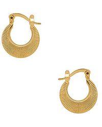 Frasier Sterling - Cleopatra Huggies In Metallic Gold. - Lyst