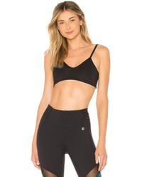 Body Language - Ren Reversible Sports Bra In Black - Lyst