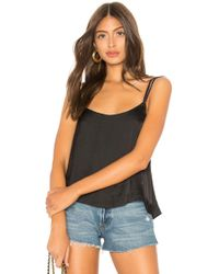 Free People - Move Lightly Cami In Black - Lyst