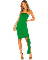 MILLY - Callie Dress In Green - Lyst