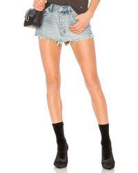 One Teaspoon - Junkyard Mini Skirt - Lyst