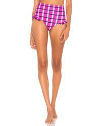 Paper London - Maldives Bikini Bottom In Pink - Lyst