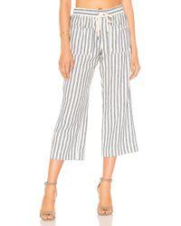 Splendid - Linen Blend Stripe Pant - Lyst