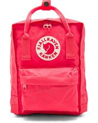 Fjallraven - Kanken Mini In Coral. - Lyst