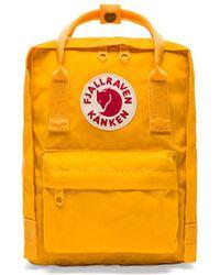 Fjallraven - Kanken Mini In Yellow. - Lyst