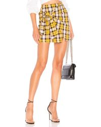 Lovers + Friends - Quinn Skirt In Yellow - Lyst