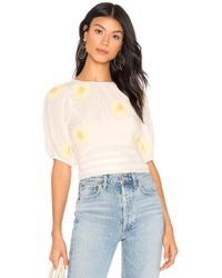 Free People - My Girl Blouse - Lyst