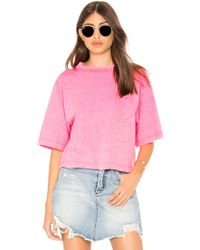 Mcguire - Sunset Beach Tee In Pink - Lyst