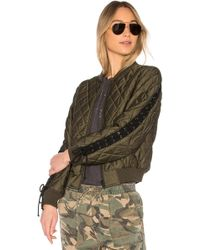 Pam & Gela - Quilted Bomber - Lyst