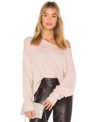 Wildfox - Cheeky Pullover Sweater - Lyst