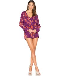 Free People - Tuscan Dreams Printed Tunic - Lyst