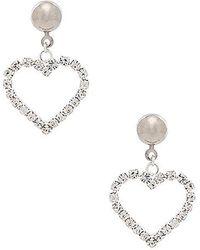 Frasier Sterling - Je T'aime Earrings In Metallic Silver. - Lyst