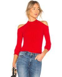 Lovers + Friends - Miller Sweater In Red - Lyst