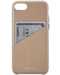 Casetify - ÉTui Pour Iphone 6/7/8 En Cuir - Lyst