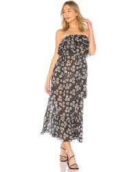 Lisa Marie Fernandez - Sabine Dress In Black & White - Lyst