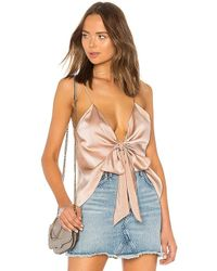 Cami NYC - The Arlo Reversible Cami In Rose - Lyst