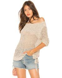 BB Dakota - Judd Pullover Sweater In Neutral - Lyst