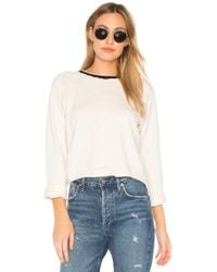 Monrow - Sporty Raglan Top - Lyst
