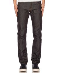 Naked & Famous - Super Skinny Guy In Left Hand Twill Selvedge 13.75 Oz - Lyst