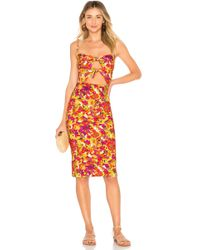 Adriana Degreas - Fruits Print Short Dress - Lyst