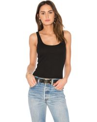Lamade - Double U Tank In Black - Lyst