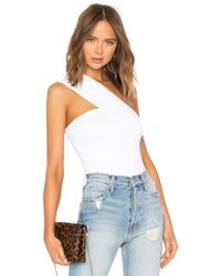Autumn Cashmere - One Shoulder Tube Top - Lyst