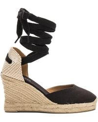 Soludos - Tall Wedge In Black - Lyst