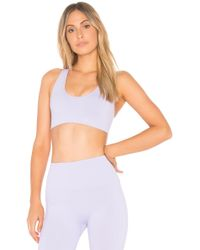 TLA by Morgan Stewart - X Morgan Stewart Cross Back Sports Bra - Lyst