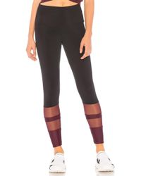 Onzie - 7/8 Racer Midi Legging In Black - Lyst